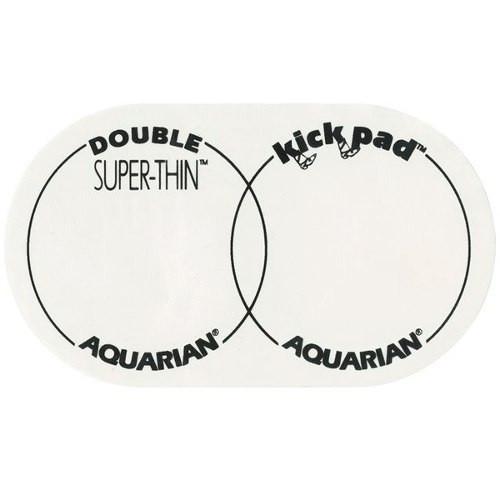 Aquarian STKP2 Super Thin Double Kick Pad Bass Drum Patch