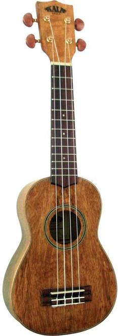 Kala KA-MS Soprano Curly Mango Wood