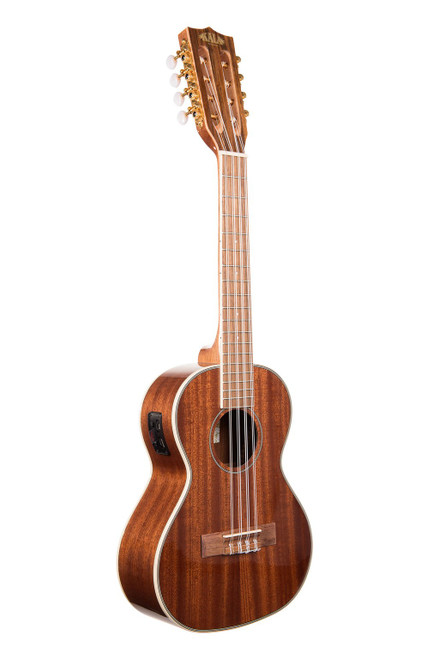 Kala KA-8E 8 String Gloss Mahogany Tenor Ukulele (With Electrics and EQ)