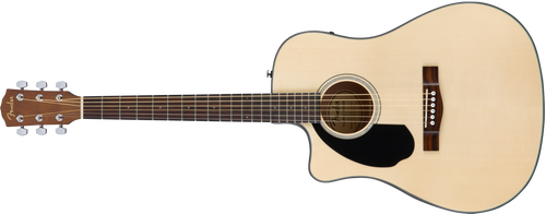 Fender CD-60SCE Left Hand Acoustic Electric