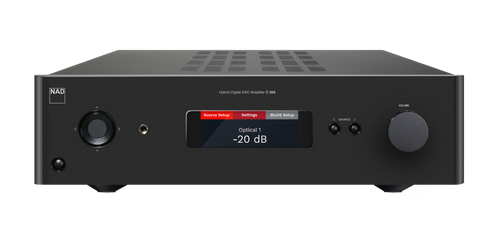 NAD C388 BluOS Streaming Integrated Amplifier