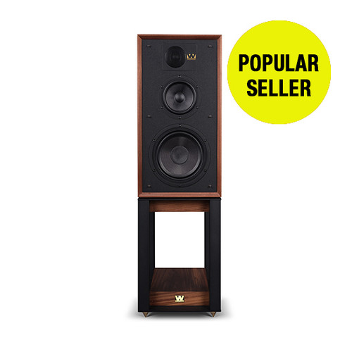 Wharfedale Linton Heritage Speakers with Stands