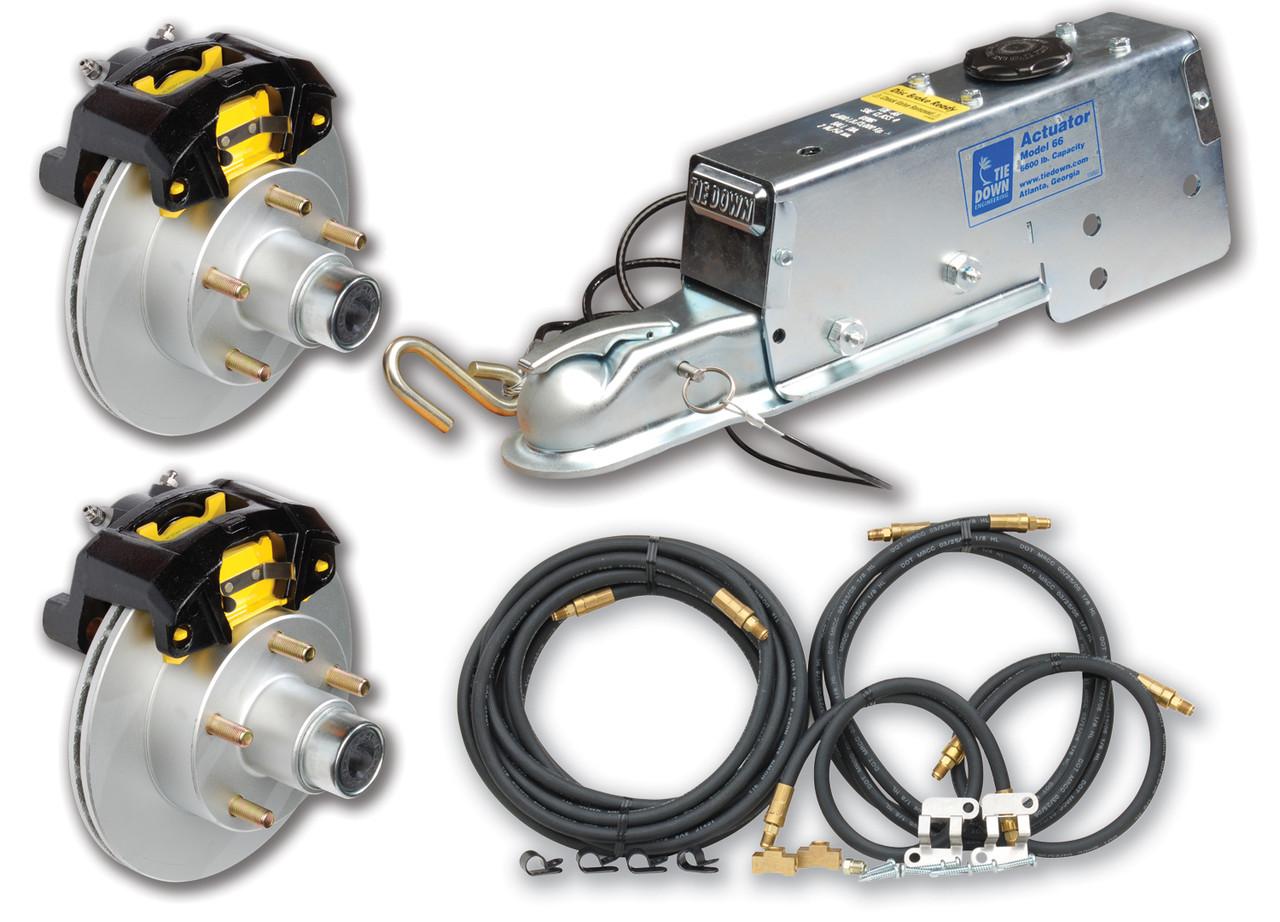 NEW TIEDOWN ENGINEERING MARINE ACTUATOR MODEL 66 DISC BRAKE TIE 82400
