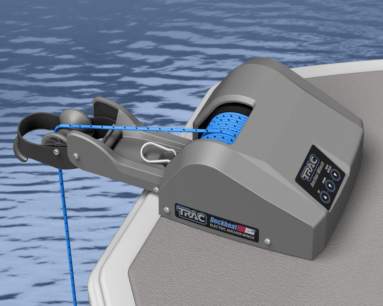 Trac Boot Marine Anker Winde Kabellose Fernbedienung für Fischer 25 /& Pontoon 35