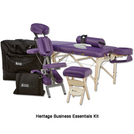 Custom Craftworks Solutions Heritage Massage Table-business essentials kit