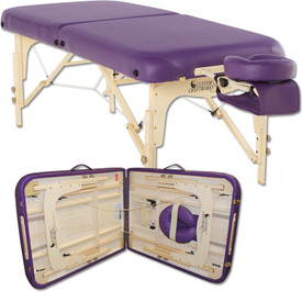 Custom Craftworks Solutions Heritage Massage Table with fold
