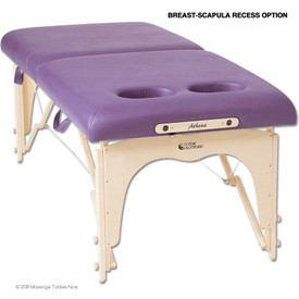 Custom Craftworks Athena Massage Table - BR