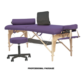 Custom Craftworks Omni Portable Massage Table-Professional Package