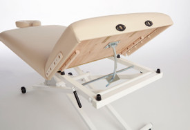 Custom Craftworks Classic Pro Lift Back Electric Massage Table back