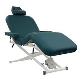 Custom Craftworks Classic Pro Deluxe Electric Lift Massage Table in Agate