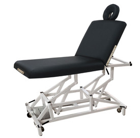 Custom Craftworks Mckenzie Lift Back Electric Massage Table, with head rest
