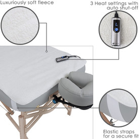 Earthlite Basics Fleece Massage Table Warmer-features