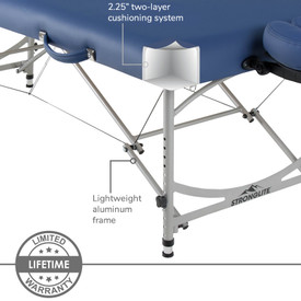 Stronglite Versalite Pro Portable Massage Table Package-cushioning
