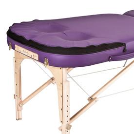 EarthLite Infinity Conforma Portable Massage Table cutouts closeup