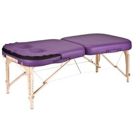 Earthlite Infinity Conforma Portable Massage Table cutouts