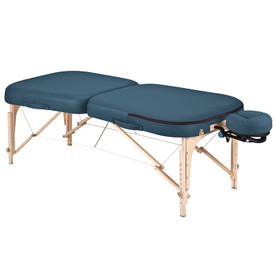 Earthlite Infinity Conforma Portable Massage Table mystic blue