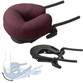 EarthLite Flex-Rest䋢 Head Rest with Strata Face Pillow - collage