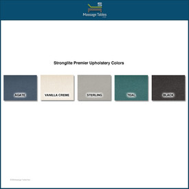 Stronglite Premier Portable Massage Table-color chart