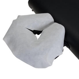 Earthlite Disposable Face Rest Covers - on table