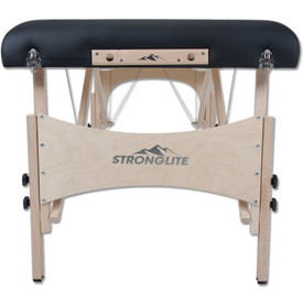 Stronglite Classic Deluxe Portable Massage Table Package-standard endplate