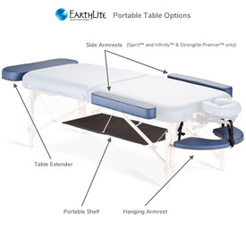 Earthlite Universal Hanging Armrest - portable options