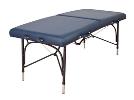Oakworks Portable Massage Table, Aluminum Base, WELLSPRING
