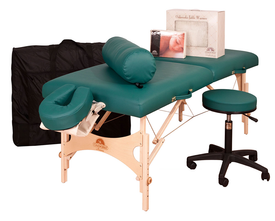 Oakworks Portable Massage Table, AURORA with Ultimate Package