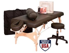 Oakworks Portable Massage Table, NOVA with Ultimate Package