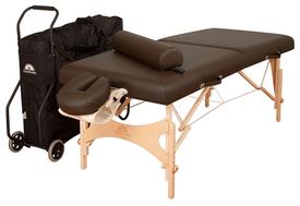 Oakworks Portable Massage Table, NOVA with Traveler Package