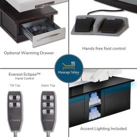 Everest Eclipse Electric Salon - features 1