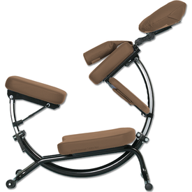 Pisces Pro Dolphin II Portable Massage Chair - Dolphin 2-cappuccino