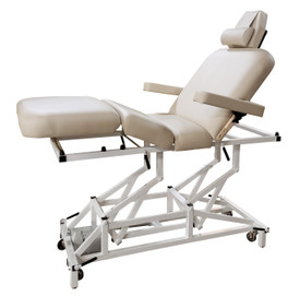 Custom Craftworks Mckenzie Deluxe Electric Massage Table upright