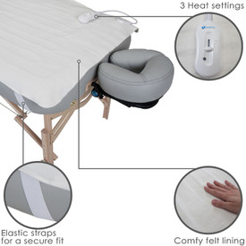 Earthlite Body Workers Choice Massage Table Warmer-features