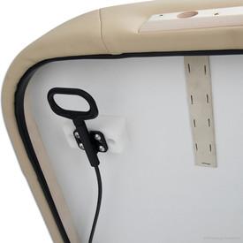 Stronglite Ergo Lift Tilt Massage Table-tilt handle