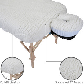 Earthlite Deluxe Fleece Pad Set - features