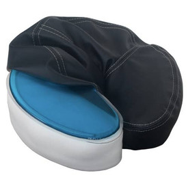 Earthlite Strata Cool Face Pillow with Gel Pack, Black cover