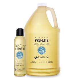 Earthlite Pro-Lite Massage Oil - 8oz and 1 gallon