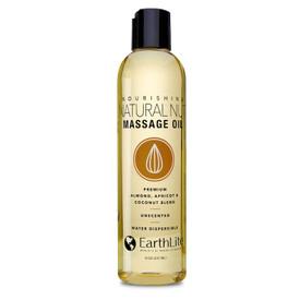 Earthlite Natural Nut Massage Oil - 8oz bottle
