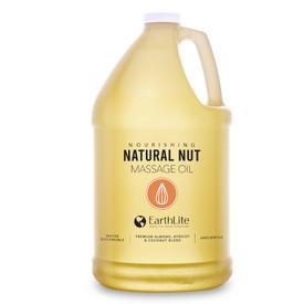 Earthlite Natural Nut Massage Oil - 1 Gallon