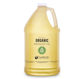 Earthlite Pure Organic Massage Oil - gallon container