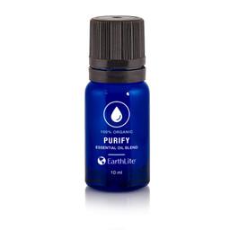 Earthlite Organic Essential Oil Blends, 10ml, PURIFY BLEND