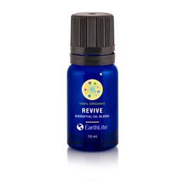 Earthlite Organic Essential Oil Blends, 10ml, REVIVE BLEND