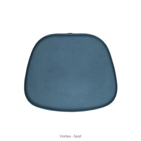 Earthlite Portable Massage Chair Replacement Pads, VORTEX, seat cushion