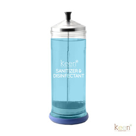 Keen Essentials Sanitizer & Disinfectant Jar, 37oz Heavy-Duty
