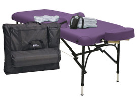 Custom Craftworks Portable Massage Table, Challenger, Practice Essentials Kit