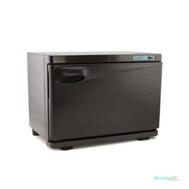 Dermalogic Spa Sanitizing UV Towel Warmer, 20 Liter, wood grain finish