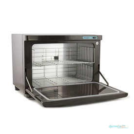 Dermalogic Spa Sanitizing UV Towel Warmer, 20 Liter with door open