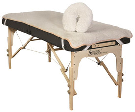 Custom Craftworks Massage Table Linens, Fleece Pad Set