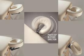 Custom Craftworks Pivot Posi-Tilt Massage Face Cradle-Positions