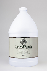 Sacred Earth Botanicals Massage Oil, Certified Organic Fractionated Coconut, 128 oz